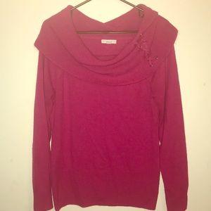 Fuschia NY&C Sweater